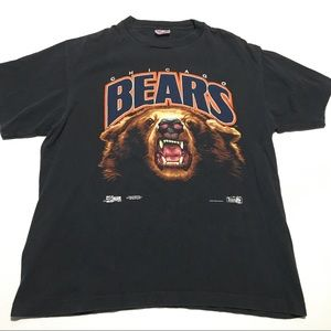 VTG 90s Chicago Bears Single Stitch Tee